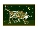 Masked Bull Prints by Teofilo Olivieri