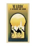 Maroc L'Afrique du Nord Plakaty autor Steve Forney
