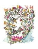 Mhala Hakucho (Swan) Poster by Kiana Mosley