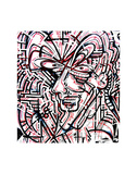 Metalface, 2011 Prints by  Cram Concepts