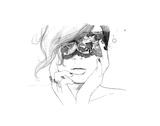 Masked Affiches par Jessica Durrant