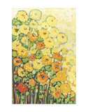Marigolds for Carson Print by Jennifer Lommers
