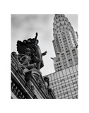 Mercury Statue and Chrysler Building Posters af Chris Bliss