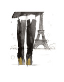Meet me in Paris Art by Jessica Durrant