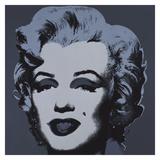 Marilyn Monroe (Marilyn), 1967 (black) Posters af Andy Warhol
