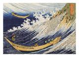 Ocean Waves Posters by Katsushika Hokusai