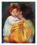 Maternal Kiss 1896 Posters by Mary Cassatt