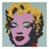 Marilyn, 1967 (on blue ground) Posters af Andy Warhol