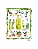 Olives Poster by Lucile Prache