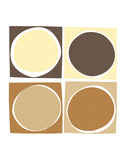 Mocha Prints by Denise Duplock
