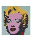 Marilyn, 1967 (sur fond bleu) Posters par Andy Warhol