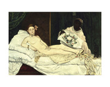 Olympia, 1863 Prints by Édouard Manet