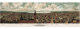 Panoramic View of Milwaukee, Wisconsin, 1898 Posters by  Gugler Litho.