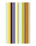 Paprika Stripe Prints by Dan Bleier
