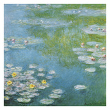 Nympheas at Giverny Giclee Print by Claude Monet