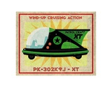 Patrol Craft XT Box Art Tin Toy Posters by John W. Golden