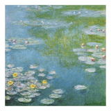 Nympheas at Giverny Art by Claude Monet