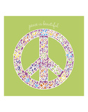 Peace is Beautiful Prints by Erin Clark