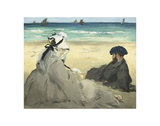 On the Beach, 1873 Art by Édouard Manet