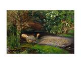 John Everett Millais - Ophelia, ca. 1851 - Reprodüksiyon