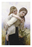 Not Too Much to Carry Posters by William-Adolphe Bouguereau