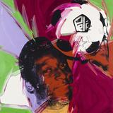 Pelé, c. 1977 Plakater av Andy Warhol