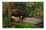 Ophelia, ca. 1851 Prints by John Everett Millais