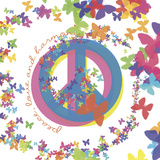 Peace, Love, and Harmony Prints by Erin Clark