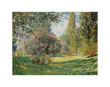 Parc Monceau, 1876 Posters by Claude Monet