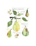 Pears Prints by Lucile Prache