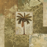 Palm Patchwork I Posters