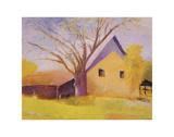 Old Cotton Barn, Beech Island, South Carolina Prints by Wolf Kahn