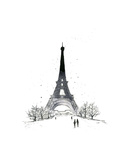 Paris Prints by Jessica Durrant