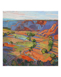 Patterns in Triptych (center) Posters by Erin Hanson
