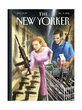 The New Yorker Cover - December 14, 2015 Giclee Print by Eric Drooker