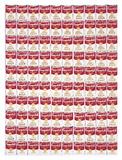 One Hundred Cans, 1962 Impressão giclée por Andy Warhol