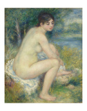 Nude in a Landscape, 1883 Posters by Pierre-Auguste Renoir