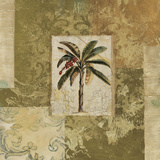 Palm Patchwork II Poster