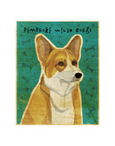 Pembroke Welsh Corgi Poster by John W. Golden