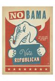 No Bama: Vote Republican Posters by  Anderson Design Group