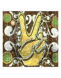 Peace 1 (hand) Posters by Anthony & Nancci Ross