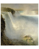 Niagara Falls, from the American Side, 1867 Prints by Frederick Edwin Church