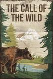 The Wild Giclée-tryk af Rufus Coltrane
