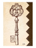 Antique Key Prints by Rene Stein
