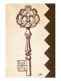Antique Key Prints by Rene Stein