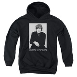 Youth Hoodie: John Lennon- Solo Pullover Hoodie