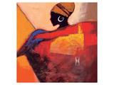African Fire Kunst af  Joadoor