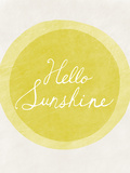 Hello Sunshine Giclee Print by Lottie Fontaine