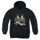 Youth Hoodie: John Lennon- With Yoko & Berets Pullover Hoodie