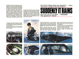 Austin Healey-Suddenly it Rains Posters